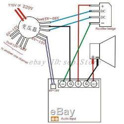 Pr-800 Classe A / Classe Ab Carte Amplificateur De Puissance De Scène Professionnelle Avec Dissipateur Thermique