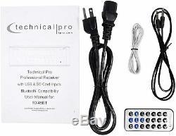 Pro Technique 5.2 Ch 1000 W Crête Bluetooth Récepteur De Cinéma Maison Rx45bt