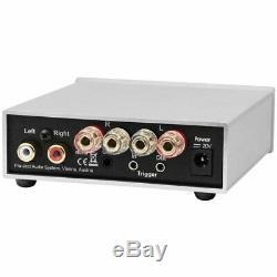 Pro-ject Amp Box S2 Amplificateur De Puissance Stéréo Open Box Avec Garantie, Noir