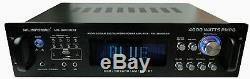 Professional 4000 Watts Amplificateur Hybride / Pré-amplificateur / Récepteur Mu-h4000bt
