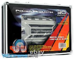 Puissance Acoustik Pcx-30f Pro Cap 30.0 Farad Digital Hybrid Amplificateur Capacitor Nouveau