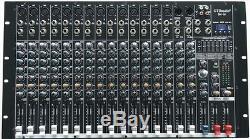 Puissance Amplifiée Professionnelle De Mélangeur Actionnée Professionnelle De 4000 Watts 16 Mélangeant L'amplificateur Sk16