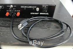 Puissance Vintage Serviced Bryston 2b Pro Amplificateur Stéréo Entrées Symétriques Xlr