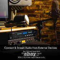 Pyle P3201bt 3000 Watt Pro Audio Multi Channel Récepteur Hybride Bluetooth, Noir