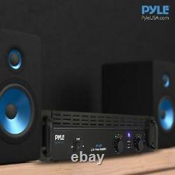 Pyle Pta1000 Rack Mount 1000w Professional Pa Dj Power Amplificateur Bluetooth Amplificateur
