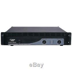 Pyle Pta1000 Rack Mount Professionnel Pa Dj Puissance Bluetooth Amplificateur Amp