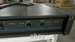 Qsc 1500a Amplificateur De Puissance Stéréo Professionnel Pour Pièces / Réparation