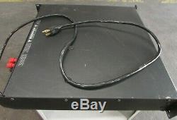 Qsc 1500a Professionnel Amplificateur Pour Stereo Pièces / Réparation