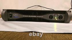 Qsc Audio Plx2402 (pro 2400 Watt) Amplificateur De Puissance Audio Avec Cordon Power -used