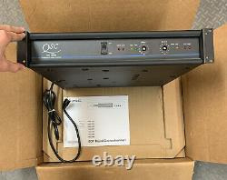 Qsc Audio Products Mx1500a Professional Stereo Power Amp Amp Amplificateur Nouveau Dans La Boîte