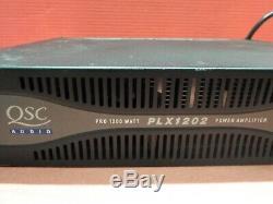 Qsc Audio Professional 1200 Watt Plx1202 Power Amplifier