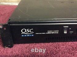 Qsc Audio Rmx 2450 Amplificateur De Puissance Professionnel 2 Canaux