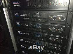 Qsc Audio Rmx 850 Amplificateur De Puissance Professionnel