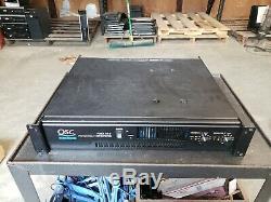 Qsc Audio Rmx 850 Amplificateur De Puissance Professionnel 2 Canaux Rapide Des Navires