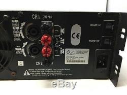 Qsc Audio Rmx5050 Amplificateur De Puissance Professionnel 1600 Watts Par Canal Sous 4 Ohms