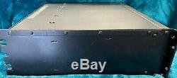 Qsc Audio Stéréo Amp Rmx 4050hd Pro Power Amplifier Double Monaural Alimentation 1300with4