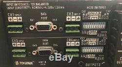 Qsc Cx404 Professional 4 Canaux D'amplificateur De Puissance De Travail Tirer Et Très Propre