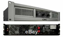 Qsc Gx5 Professional 500withchannel @ 8 Ohms Amplificateur De Puissance Stéréo 2u Amp
