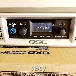 Qsc Gxd8 4500w Classe D Amplificateur De Puissance Professionnel