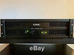 Qsc Isa1350 Professional Puissance Amplifier- Parfait État De Fonctionnement Amp