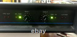 Qsc MX 1500a Amplificateur Stéréo Professionnel 500 Watts @4 Ohms /ch Utilisé Testé