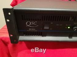 Qsc MX 3000a Mx3000a Pro Amplificateur De Puissance Double Canaux Stéréo