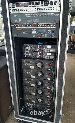 Qsc MX Pro 2000a Amplificateur De Puissance Stéréo (one) 6 Disponible