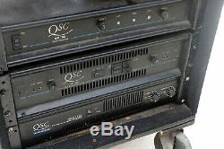 Qsc MX Pro 2000a Stéréo 2 Double Amplificateur De Puissance De Canal