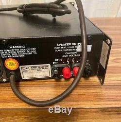 Qsc Mx1500a 2 Canaux Professionnel Amplificateur De Puissance Stéréo