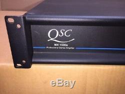 Qsc Mx1500a Amplificateur Stéréo Professionnel