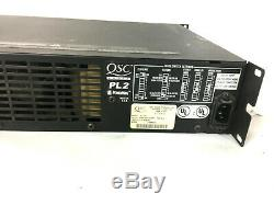 Qsc Pl218 Powerlight 2 1800w Amplificateur De Puissance Professionnelle Garantie De 30 Jours