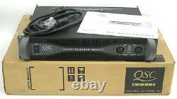 Qsc Plx-1602 Pro Power Amplificateur 300-watts/ch @ 8 Ohms + Box & Manual