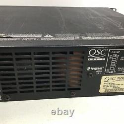 Qsc Plx 3002 Amplificateur Stéréo Léger Professionnel 550 @ W 8 Ohms 900 @ Quatre