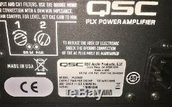 Qsc Plx 3602 Ampli De Puissance Audio Massif 2 X 1800w, Ponté 3600w 21 Livres 220v