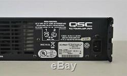 Qsc Plx 3602 Professional 2 Canaux 3600 Watt Amplificateur De Puissance (21222-27 M22)