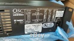 Qsc Plx3002 Pro 3000watt Amplificateur 2 Canaux