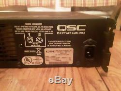 Qsc Plx3602 Power Amp Amplificateur Pro Audio Faible Utilisation Poids Léger