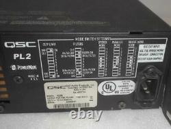 Qsc Powerlight 2 Pl236 3600 Watt Amplificateur Professionnel