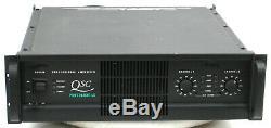 Qsc Powerlight 4.0 Pro 2 Canaux Amplificateur De Puissance Pl 4.0 900 Withch @ 8 Ohms # 1718