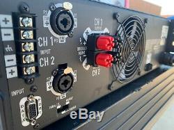 Qsc Powerlight 4.0 Pro 2 Ch 4000 Watt Amplificateur De Puissance Pl4.0 900 Wpc @ 8 Ohms