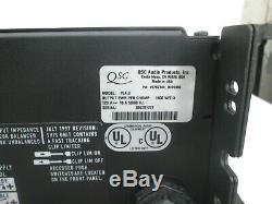 Qsc Powerlight 4.0 Pro 2 Ch Amplificateur De Puissance Pl4.0 900 Wpc @ 8 Ohms