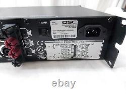 Qsc Rmx 1450 1400 Watt 2 Channel Professional Amplificateur, Légèrement Utilisé