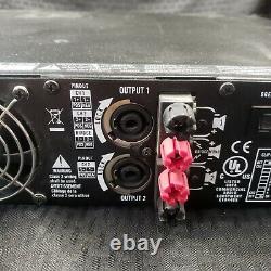 Qsc Rmx 1850hd Amplificateur De Puissance Professionnelle 1800 Watts