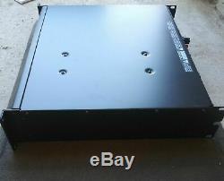 Qsc Rmx 2450 2 Canal Amplificateur Pro Power Rack Works Grande Garanti