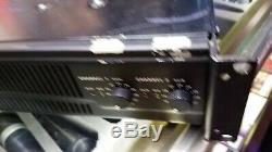 Qsc Rmx 2450 2 Canaux Amplificateur De Puissance Professionnel (pièces Ou Réparation)