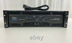 Qsc Rmx 4050hd Double Monaural Supply Professional Power Amplificateur