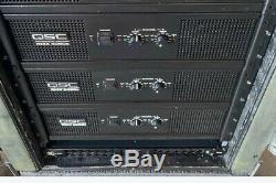 Qsc Rmx5050a Dj / Club Professionnel Amplificateur De Puissance 5000 Watts Amp One Utilisé