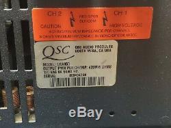 Qsc USA 850 Double Professional 2 Canaux Amplificateur De Puissance