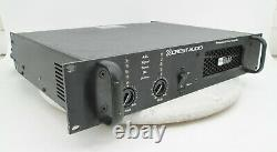 Rack Mount Crest Audio Pro 9200 Amplificateur De Puissance Professionnel #2731