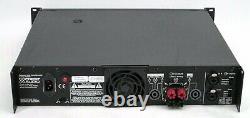 Rackable Crest Audio Cd2000 Cd2000 2000 Watt Pro Amplificateur De Puissance Amp